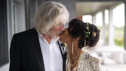 78-летний звезда группы Pink Floyd в пятый раз женился: волшебные фото