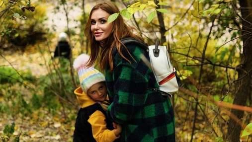Слава Камінська провела вихідний з ексчоловіком та дітьми: миловидні фото з парку