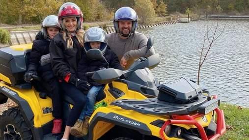 Ірина Федишин з чоловіком і дітьми каталася на квадроциклах: фото з відпочинку