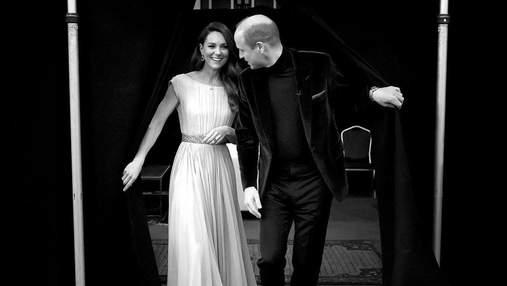 Кейт Міддлтон і принц Вільям показали почуття на світському заході: романтичні фото
